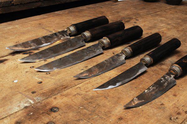 沖縄手造りナイフ--3